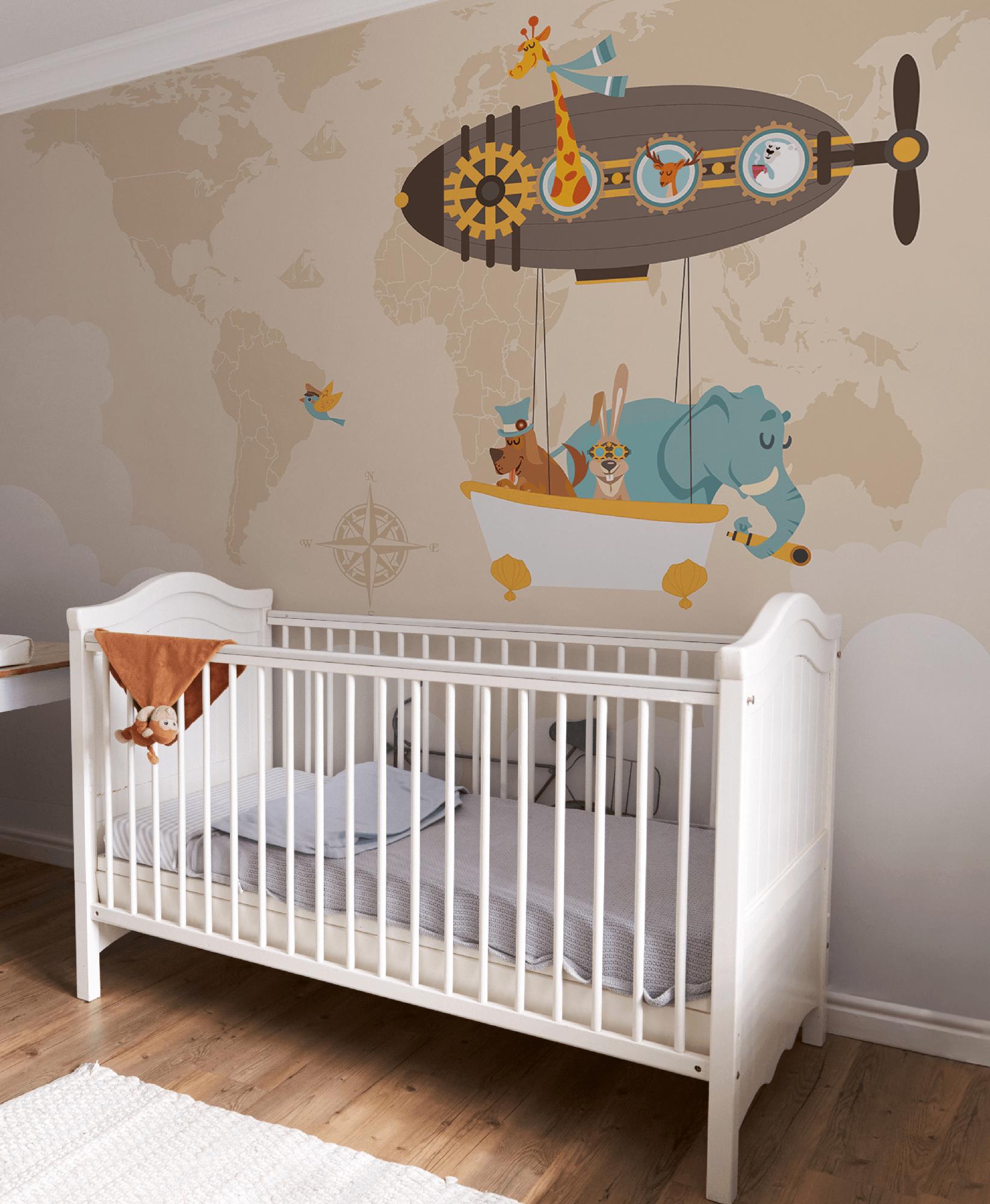 Around the world carta da parati per bambini baby for Carta da parati 2016