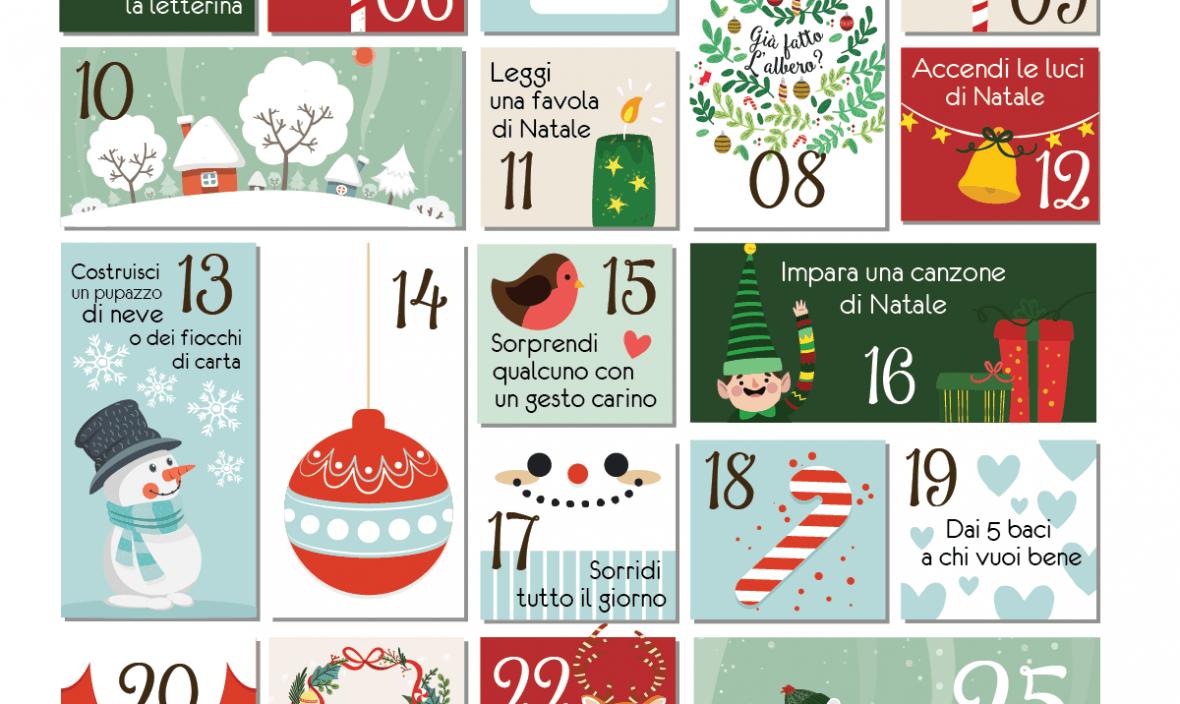 Il Calendario Dellavvento.Il Calendario Dell Avvento Di Baby Design Wallpaper